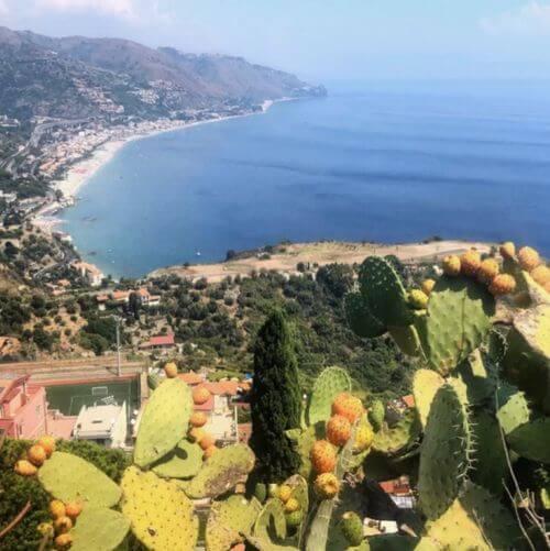 義大利陶爾米納 Taormina (西西里語 Taurmina) 必玩 - Belvedere di Via Pirandello 眺望臺