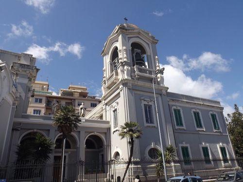 義大利墨西拿 = 美西納 Messina 必玩 - Santuario Parrocchia di Santa Maria Del Carmine 卡爾米內教堂
