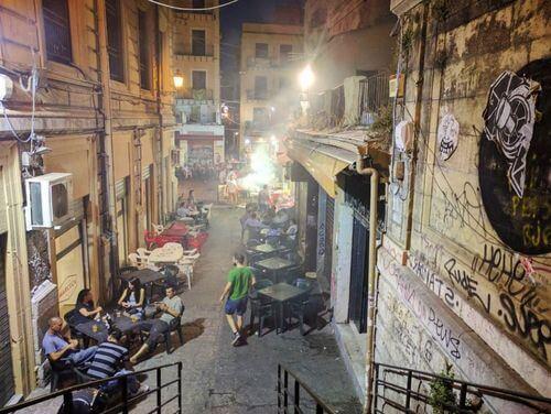 義大利巴勒莫 Palermo 必玩 - La Vucciria 夜市