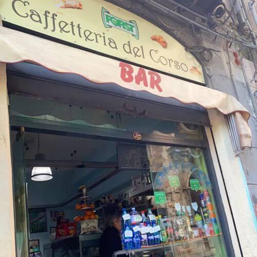 義大利巴勒莫 Palermo 必吃 - Caffetteria del Corso (BAR)