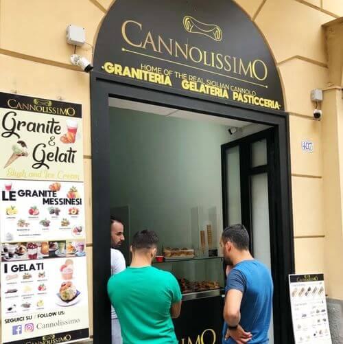 義大利巴勒莫 Palermo 必吃 - Cannolissimo