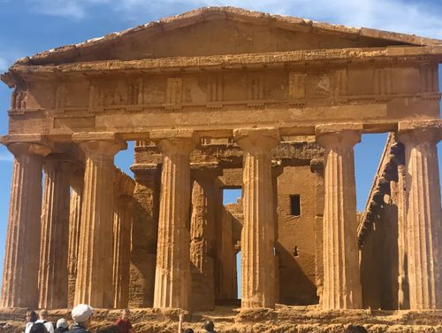 義大利阿格里真托 Agrigento 必玩 - 神殿之谷 (=神廟之谷) Valle dei Templi - 2 Temple of Concordia (義 Tempio della Concordia)