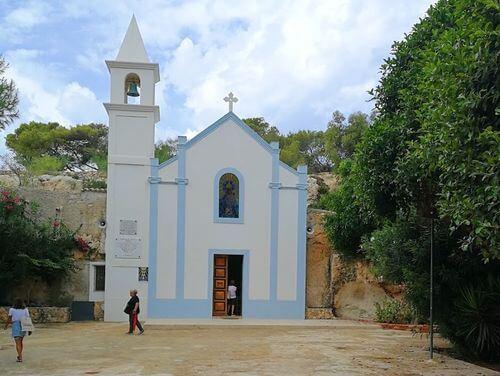 義大利蘭佩杜薩島 Isola di Lampedusa 必玩 - Santuario della Madonna di Porto Salvo 薩爾多聖母教堂