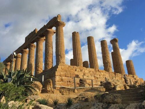 義大利阿格里真托 Agrigento 必玩 - 神殿之谷 (=神廟之谷) Valle dei Templi - 1 Temple of Hera Lacinia (Juno) (義 Tempio di Giunone)