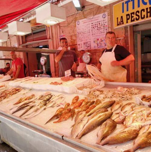 義大利錫拉庫薩 = 敘拉古 Siracusa (Syracuse) 必玩 - Mercato 市場