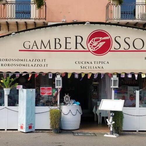 義大利米拉佐 Milazzo (西西里語 Milazzu) 必吃 - Restaurant Gambero Rosso