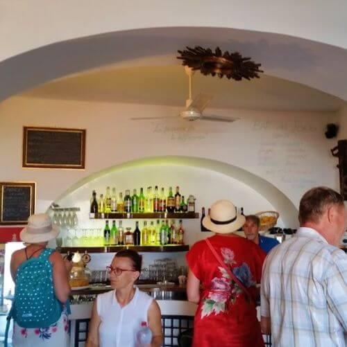 義大利帕納雷阿島 ISOLA DI PANAREA 必吃 - Bar Del Porto Panarea