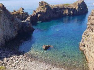 義大利帕納雷阿島 ISOLA DI PANAREA 必玩 -Spiaggia di Cala Junco 海灘