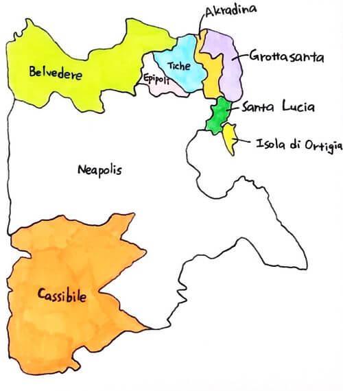 義大利錫拉庫薩 = 敘拉古 Siracusa (Syracuse) Quartiere