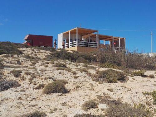 義大利蘭佩杜薩島 Isola di Lampedusa 必玩 - Spiaggia di Cala Francese 卡拉·弗朗西斯海灘