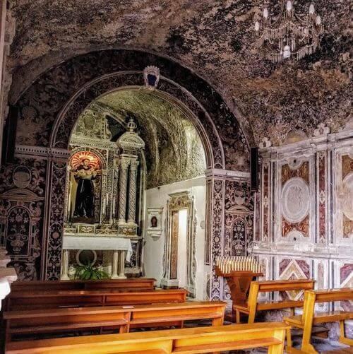 義大利米拉佐 Milazzo (西西里語 Milazzu) 必玩 - Santuario di Sant'Antonio di Padova 聖安東尼奧·迪·帕多瓦岩石聖所