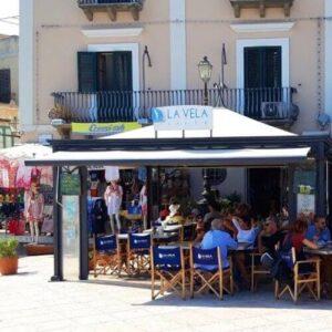 義大利利帕里島 ISOLA DI LIPARI 必吃 -Caffè La Vela