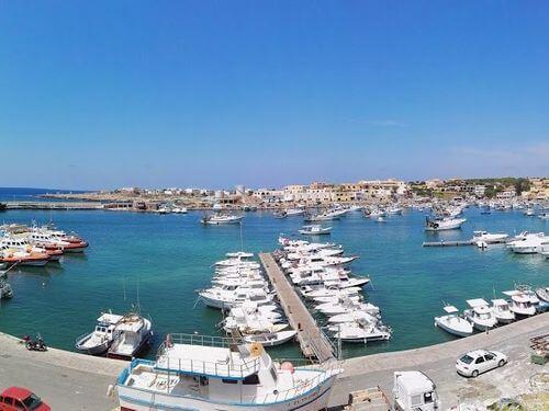 義大利蘭佩杜薩島 Isola di Lampedusa 必玩 - Porto di Lampedusa 蘭佩杜薩港