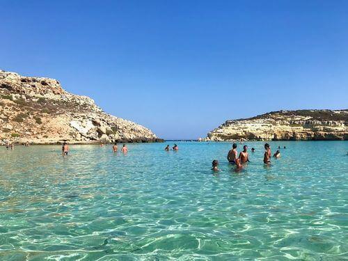 義大利蘭佩杜薩島 Isola di Lampedusa 必玩 - Spiaggia dei Conigli 兔子海灘