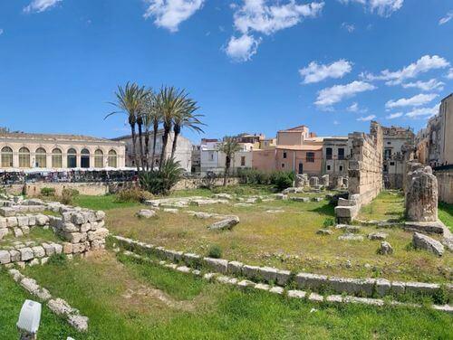 義大利錫拉庫薩 = 敘拉古 Siracusa (Syracuse) 必玩 - Tempio di Apollo 阿波羅神廟
