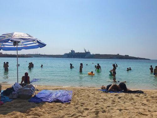 義大利蘭佩杜薩島 Isola di Lampedusa 必玩 - Spiaggia di Cala Guitgia 卡拉·吉吉亞海灘