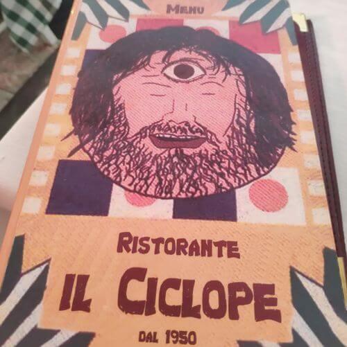 義大利陶爾米納 Taormina (西西里語 Taurmina) 必吃 - Ristorante Il Ciclope