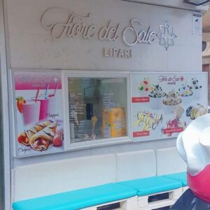 義大利利帕里島 ISOLA DI LIPARI 必吃 - Gelateria Fiore del Sale