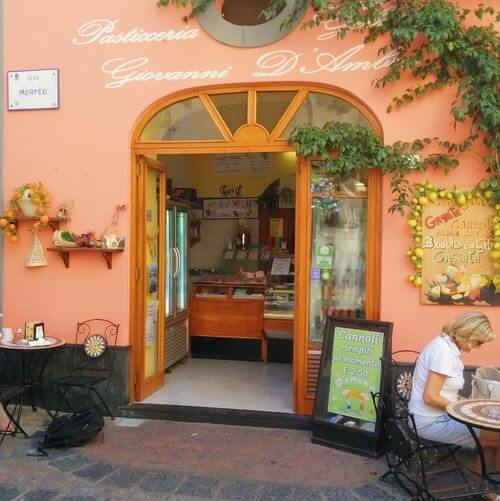 義大利利帕里島 ISOLA DI LIPARI 必吃 - Pasticceria D'Ambra Giovanni