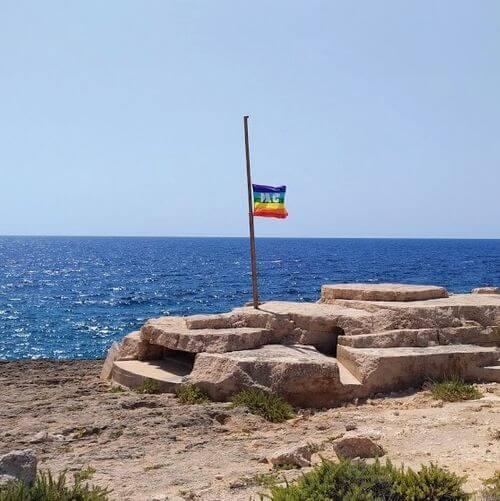 義大利蘭佩杜薩島 Isola di Lampedusa 必玩 - Porta d'Europa 歐洲之門