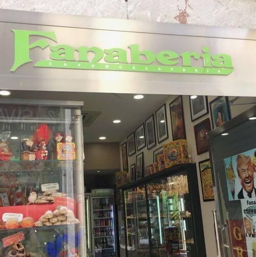 義大利陶爾米納 Taormina (西西里語 Taurmina) 必吃 - Fanaberia Cafe Gelateria Siciliana