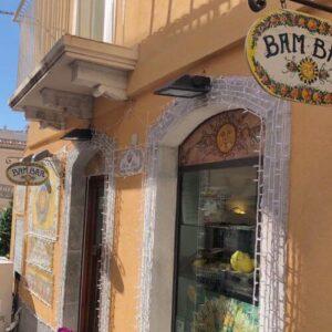 義大利陶爾米納 Taormina (西西里語 Taurmina) 必吃 - Bam Bar