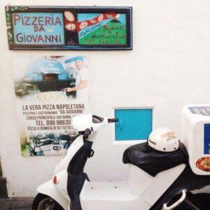 義大利斯特龍伯利島 ISOLA DI STROMBOLI 必吃 - Pizzeria Da Giovanni