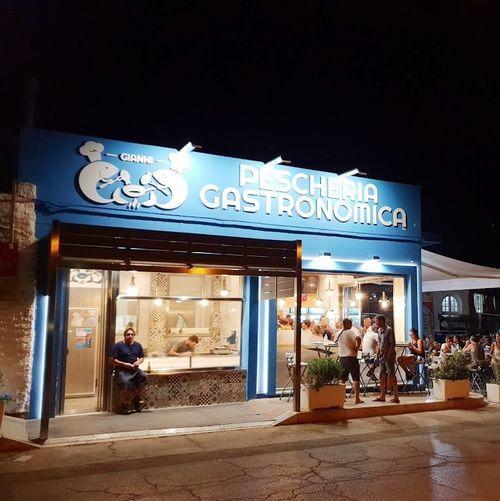 義大利蘭佩杜薩島 Isola di Lampedusa 必吃 -Pescheria Gastronomica Da Gianni
