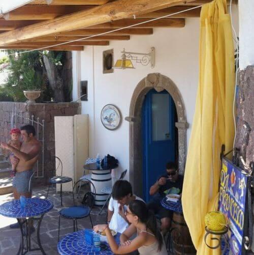 義大利帕納雷阿島 ISOLA DI PANAREA 必吃 - Da Francesco