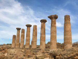 義大利阿格里真托 Agrigento 必玩 - 神殿之谷 (=神廟之谷) Valle dei Templi - 7 Temple of Heracles (義 Tempio di Ercole)