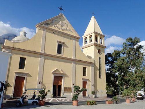 義大利斯特龍伯利島 ISOLA DI STROMBOLI 必玩 -Chiesa di San Vincenzo Ferreri 聖文森佐費雷里教堂