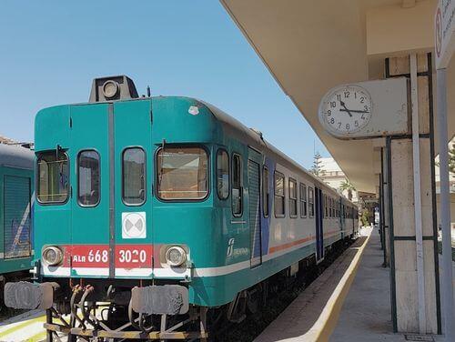 義大利Stazione di Trapani 特拉帕尼火車站