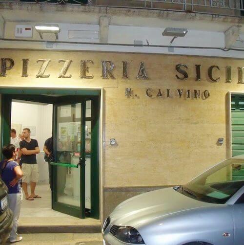 義大利特拉帕尼 Trapani (西西里語 Tràpani) 必吃 - Pizzeria Calvino