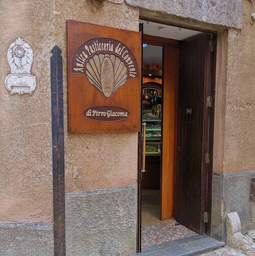 義大利埃里切 Erice (西西里語 Èrici) 必吃 - Antica Pasticceria del Convento