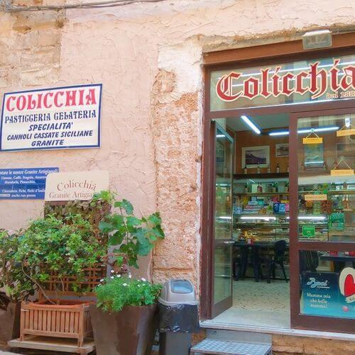 義大利特拉帕尼 Trapani (西西里語 Tràpani) 必吃 - Antica Pasticceria Gelateria Colicchia