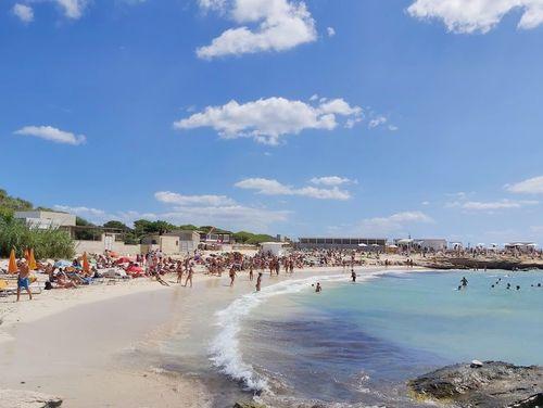 義大利法維尼亞納島 Isola di Favignana (西西里語 Faugnana) 必玩 - Spiaggia di Lido Burrone 利多伯隆海灘