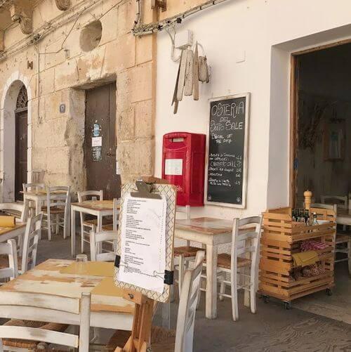 義大利法維尼亞納島 Isola di Favignana (西西里語 Faugnana) 必吃 -Osteria del Sotto Sale