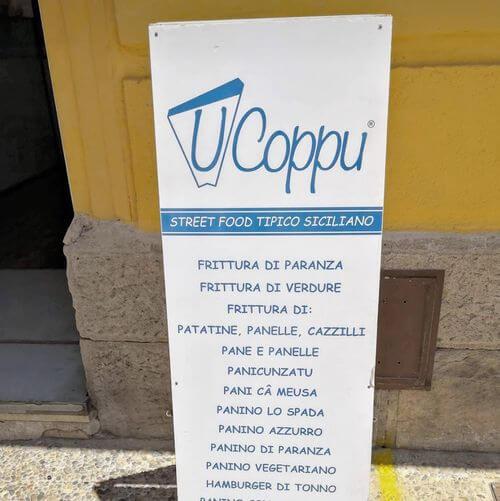 義大利法維尼亞納島 Isola di Favignana (西西里語 Faugnana) 必吃 -U' Coppu