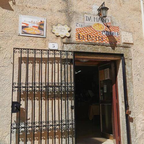 """義大利埃里切 Erice (西西里語 Èrici) 必吃 - Trattoria - Pizzeria """"La Vetta"""" Erice"""