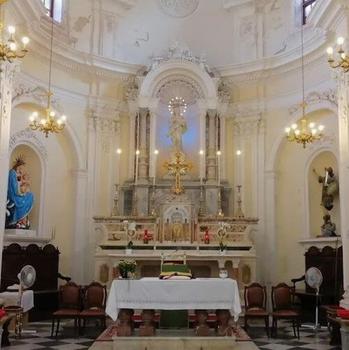 義大利法維尼亞納島 Isola di Favignana (西西里語 Faugnana) 必玩 -Chiesa Madre di Maria SS. Immacolata 瑪麗亞教堂