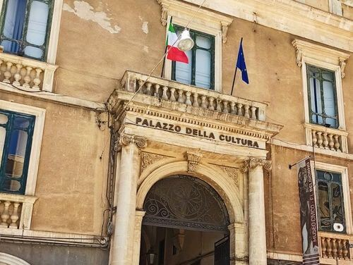 義大利莫迪卡 = 莫迪克 Modica (西西里語 Muòrica)必玩 - Museo Civico Franco Libero Belgiorno = Palazzo della Cultura 市民博物館
