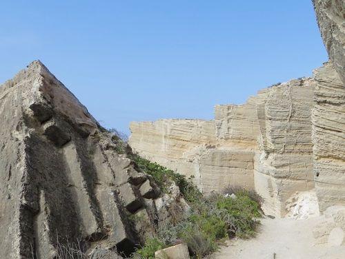 義大利法維尼亞納島 Isola di Favignana (西西里語 Faugnana) 必玩 -Labirinto di Cave 凝灰岩 (石灰岩) 洞穴