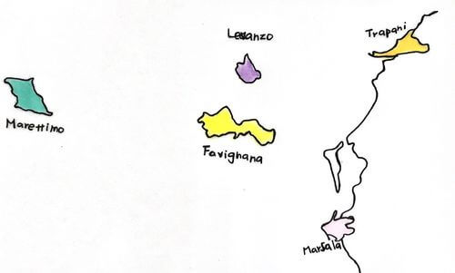 義大利特拉帕尼 Trapani (西西里語 Tràpani) 必玩 - Isole Egadi 埃加迪群島 = Aegadian Islands 山羊群島