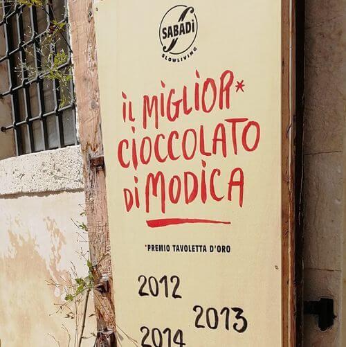 義大利莫迪卡 = 莫迪克 Modica (西西里語 Muòrica)必吃 - Sabadì - Cioccolato di Modica
