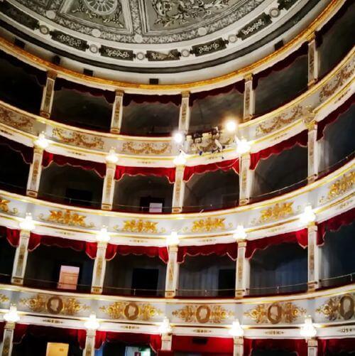 """義大利諾托 Noto (西西里語 Notu) 必玩 - Teatro Comunale """"Tina Di Lorenzo"""" 蒂娜·迪·洛倫佐劇院"""