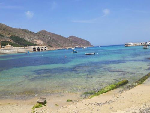 義大利法維尼亞納島 Isola di Favignana (西西里語 Faugnana) 必玩 - Spiaggia Praia 普拉亞海灘
