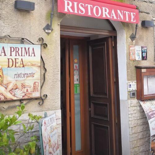 義大利埃里切 Erice (西西里語 Èrici) 必吃 - Ristorante La Prima Dea