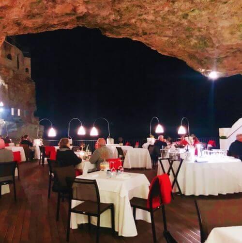 義大利波利尼亞諾·阿·馬雷 Polignano a Mare (巴里方言 Peghegnéne a Mare)必吃 - Ristorante Hotel Grotta Palazzese