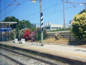 義大利奧斯圖尼 Ostuni (巴里方言 Ostune)必玩 - Stazione di Ostuni 奧斯圖尼火車站