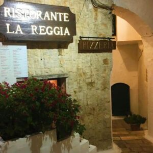 義大利奧斯圖尼 Ostuni (巴里方言 Ostune)必吃 - Ristorante La Reggia